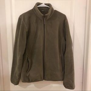 Men's Uniqlo fleece jacket